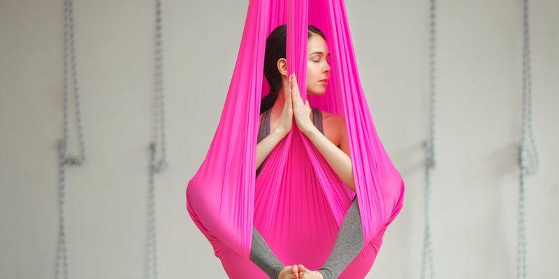 Aerial Yoga Lotus