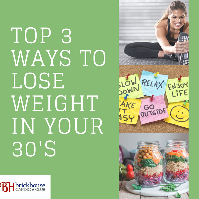 3 ways to lose weight in your 30's