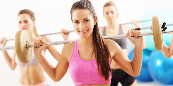 Girls with Barbell